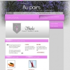 5 Page website: Shusha Clean and Aupair